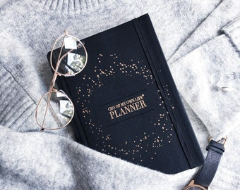 CEO of My Own Life® Planner | Undated Weekly Agenda | Diary | Planner | Classic Black