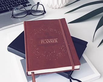 CEO of My Own Life® Planner | Undated Weekly Agenda | Diary | Organiser | Tan