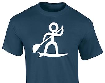 Mens SUP iSUP Paddle Board T-Shirt S M  L XL XXL