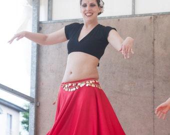 Circle tribal belly dance skirt