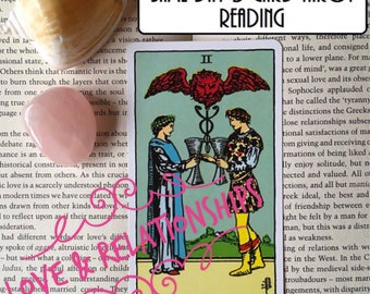 Same Day 3 Card Love Reading - Experienced Tarot Reader - Detailed and Accurate - EXCELLENT VALUE!