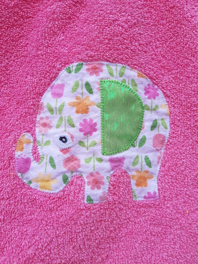 great for elephant themed nursery decor or baby shower Elephant Bib