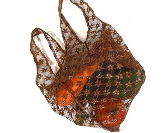 Reusable Produce Bags - waste free net bag, lightweight eco-friendly mesh vegetable bag for packaging groceries - Reduce your Footprint
