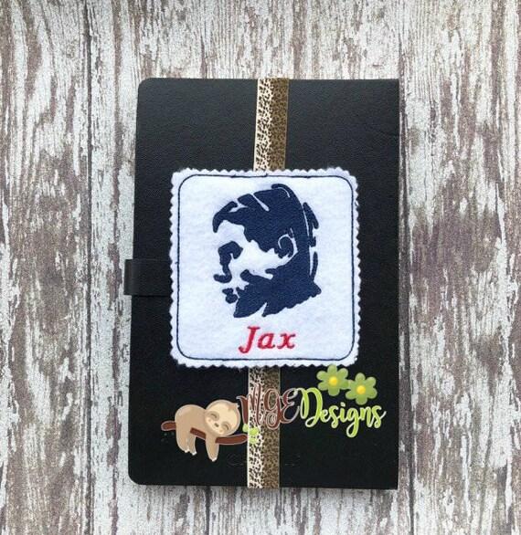 Jax Teller Samcro Soa Machine Embroidery Planner Band Design Etsy