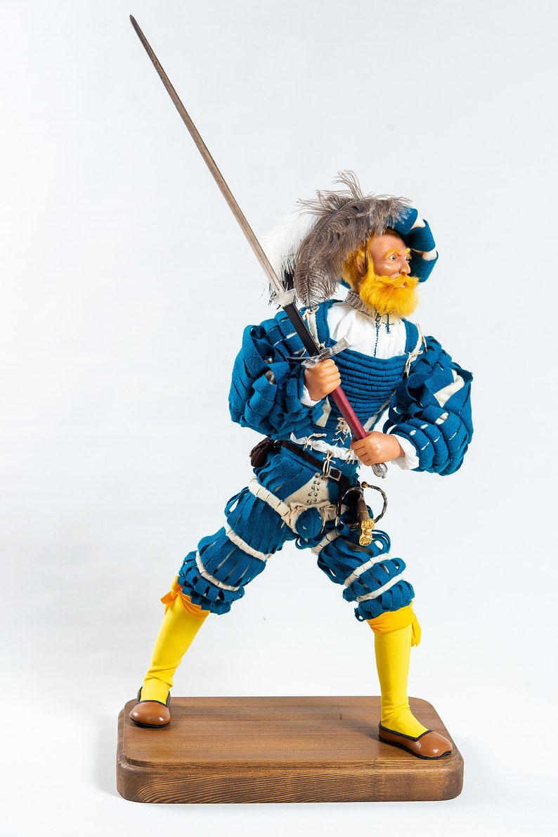 65f7fa9d840a9 Landsknecht with two-handed sword XVI c