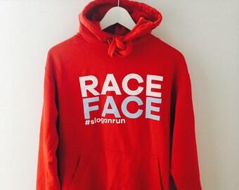 RACE FACE Adult/teen Hoodie