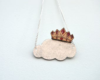 Queen of the Clouds Necklace