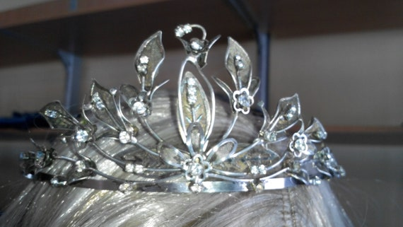 Wedding diadem Bridal Tiara Royal Diadem Elven Cro