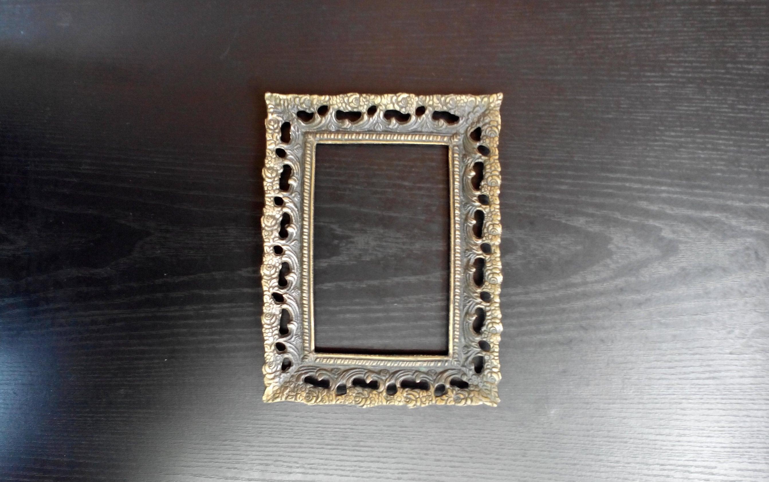 Antike verzierten Bronze Rahmen Rahmen Antik Foto Bilderrahmen