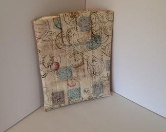 """Quilted ipad 4 cover 10.5"""" 8"""""""