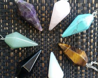Crystal Pendulum Necklace