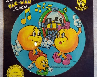 4fe077868c9b The Pac Man Album Limited Edition Picture Disc -LP- Vinyl Record Album-Kid  Stuff Records - KPD 6012- 1980-Limited Edition Collectors Series