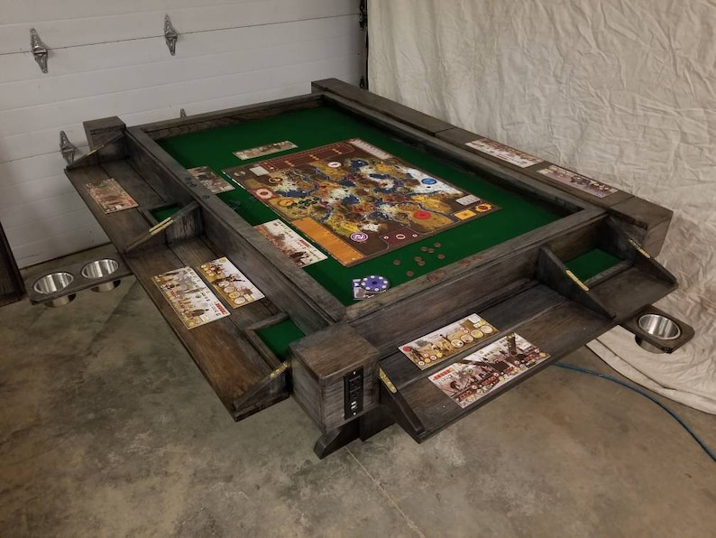 Board Game Table with Lights. image 0