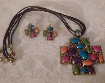 Erica Lyons Necklace/Earring Set-Price Reduced