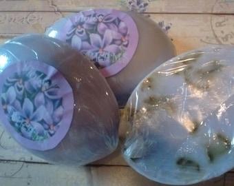 VIOLET DREAMS- Violet scented Goats Milk Soap
