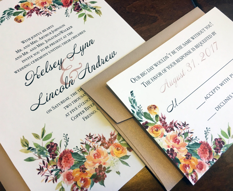 Wedding Invitations Fresno Ca: D L Flowers Fresno California