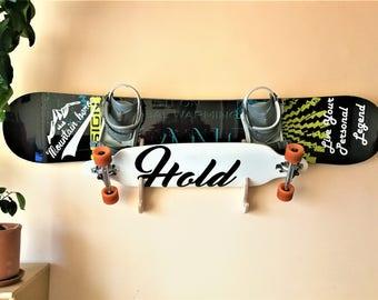 Snowboard longboard wakeboard racks for two boards