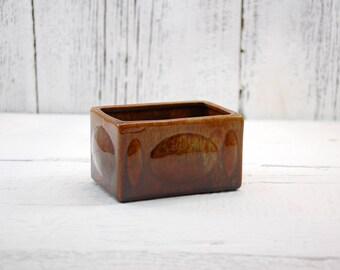 Haeger pottery box planter