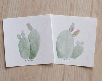 prickly pears - art print