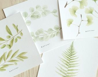 foglie - art print