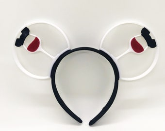 Food and Wine 3D Printed Mouse Ears