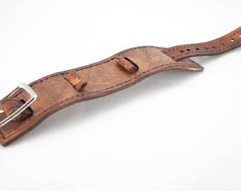 1.5 inch Hand Stitched Watch Band