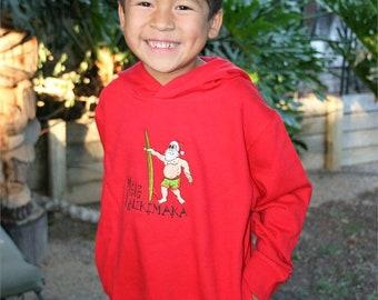 Toddlers Red Mele Kalikimaka Sweatshirt Hoodie