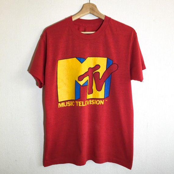 1980s MTV vintage t-shirt