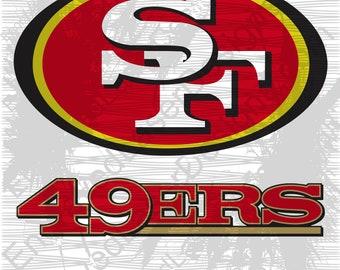 San Francisco 49ers Svg Etsy