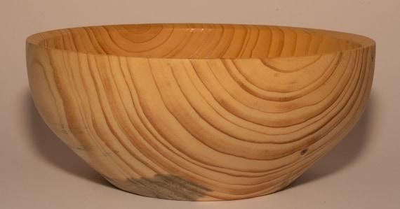 Spruce wood bowl