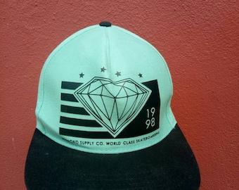 897d5a7929c Rare vintage Diamond supply co. World class skateboarding 1998 hat cap