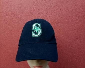 f73ac5fba23d9 Rare vintage Nike MARINERS hat cap