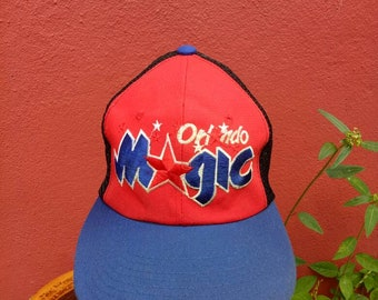 Rare vintage Orlando Magic hat cap 8f0139f0a54c