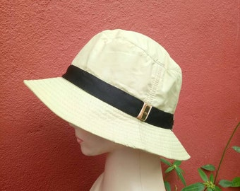 a3f81d3a5af Rare vintage Gucci buckets hat