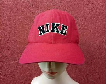Rare vintage NIKE hat capbig logo cap Nike baseball Nike  000f77b13fb