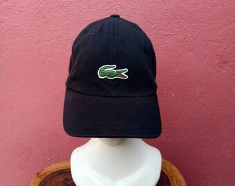 80defb26af054 Rare vintage Lacoste hat cap
