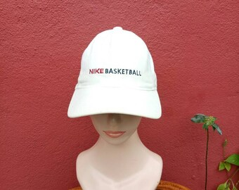 1a13296f3cb Rare Vintage Nike basketball hat  cap