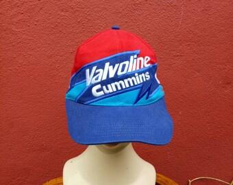 Rare Vintage Valvoline Cummins hat cap 64e2419c0b69