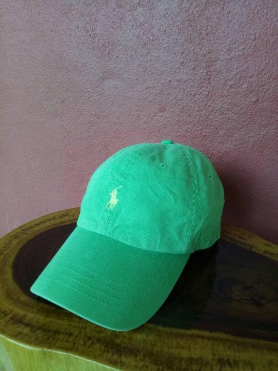 acabbe7107f0dd Rare vintage Polo Ralph Lauren chapeau Bonnet sport Polo   Etsy
