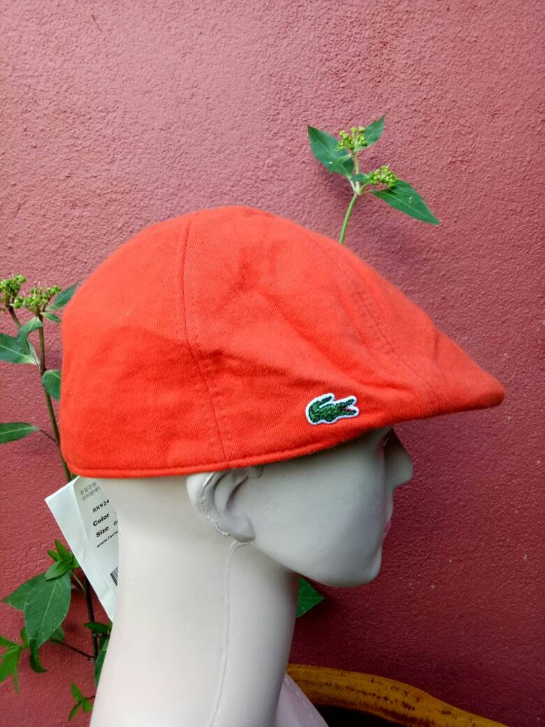 0b3485f69fa Rare vintage Lacoste Beretta hat NOS deadstock with tags
