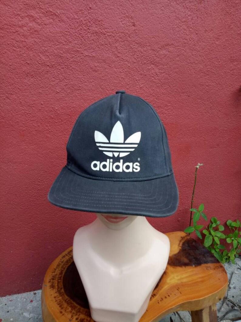 7aa91002d0a5d Vintage Adidas hat cap, big Logo cap, winter styles, summer style hat,  tennis cap, golf cap, baseball cap, p wings, Adidas shoes, Adidas jac