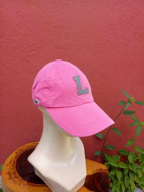 Rare vintage Lacoste hat cap summer styles Christmas gifts  30f6c1eef0e