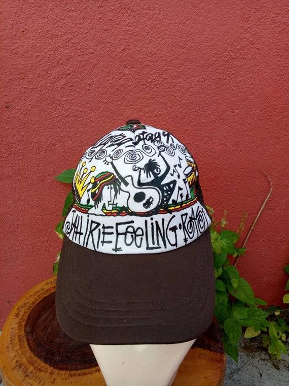 thegymyarraville.com.au Bob Marley Mens Trees Trucker Cap Black ...