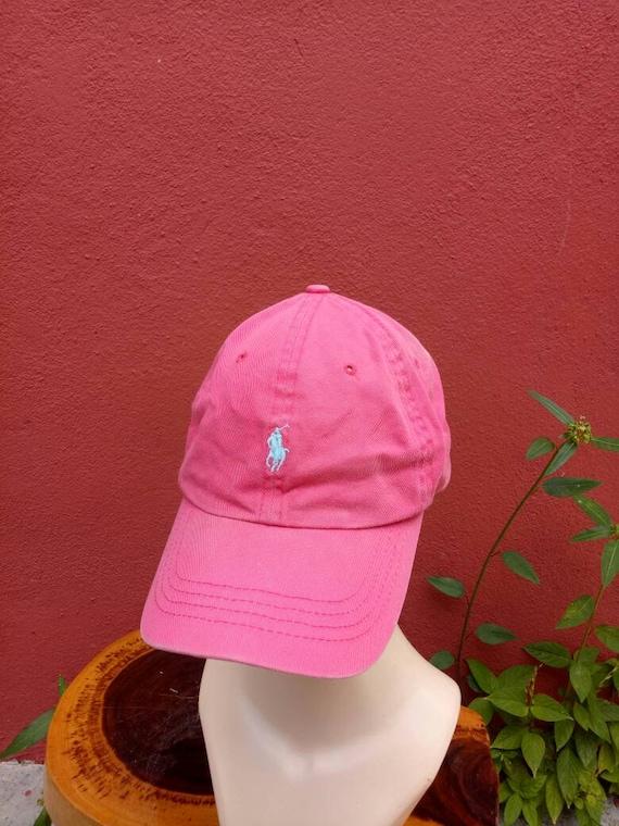 d71c8d58154 Rare vintage Polo Ralph Lauren hat cap big logo cap summer