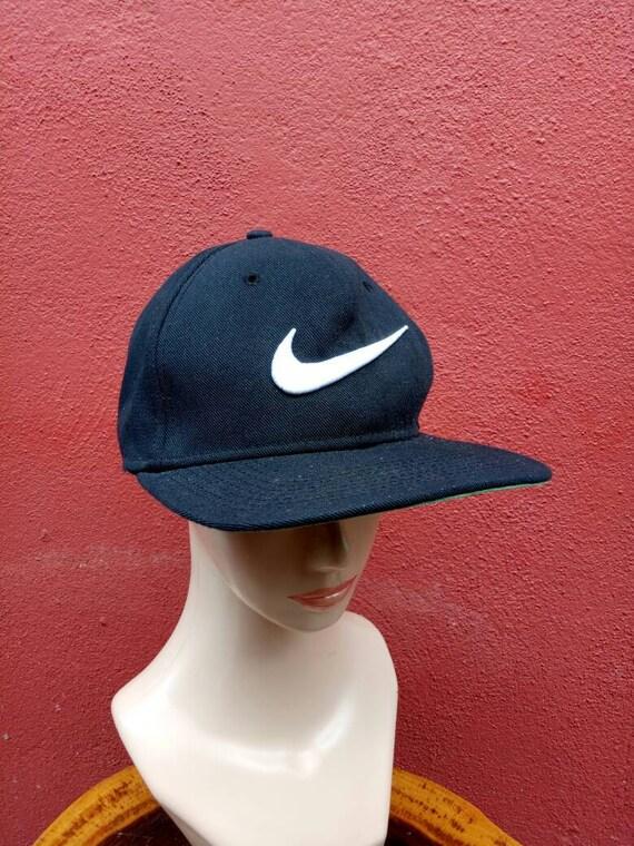 fc494cc2e Rare Vintage Nike hat / cap , big Logo hat, tennis cap, golf cap, Hip Hop  styles, Street wear hat, summer style hat, winter styles, Christma
