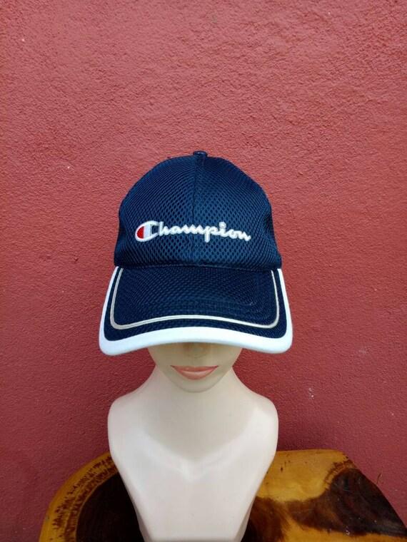 Rare vintage Champion hat capbig Logo cap summer style hat  df07c130652