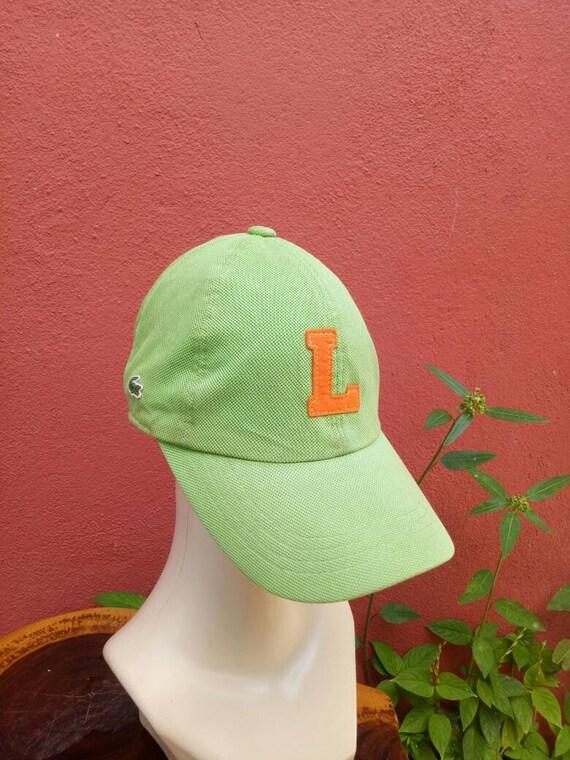 Rare vintage Lacoste hat capbig logo cap street wear styles  280185cdef9