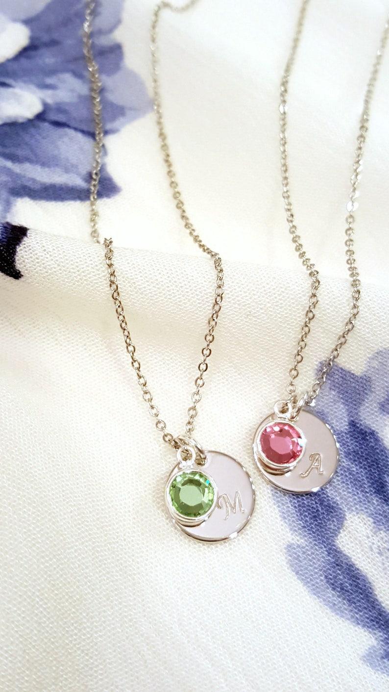 Femme La Famille Unique Naissance Personnalisé Initial Collier Bijoux Pour Cadeau De Enfant Arbre PnwOvm0yN8