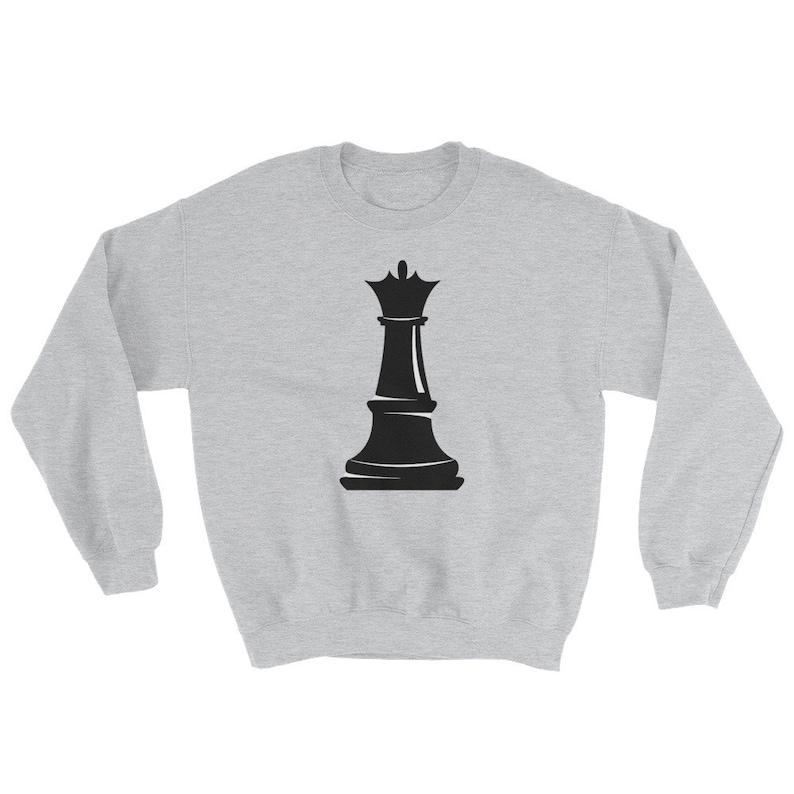 f68d901c Black Queen Chess Shirt Black Girl Magic Sweatshirt | Etsy
