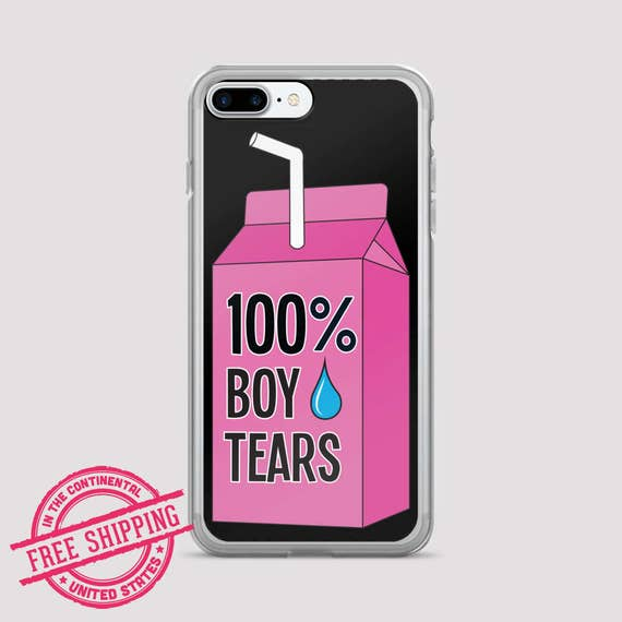 purchase cheap 8a019 d147b 100% Boy Tears Feminist iPhone Case - Women's March 2019 - Feminist Cell  phone Case - iPhone X, iPhone XR, Samsung Galaxy 9+